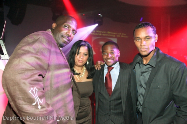 "Kevin Brown, Actor; and �""BOX"" Producers Emelyn Stuart, Fabrice Armand, and Michael Peoples"