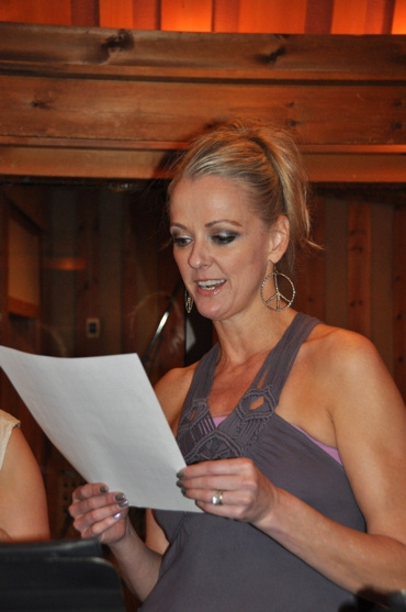 Angie Schworer at CATCH ME IF YOU CAN Sings For 'Carols For A Cure'