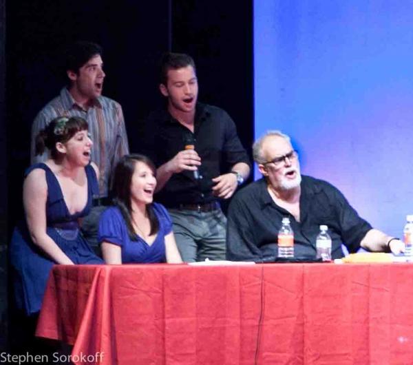 Taylor Anderson, Michael Wessells, Hannah Richter, Michael Hewitt, William Finn Photo