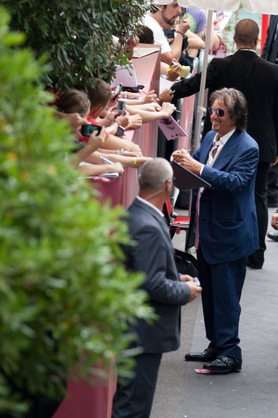 Photo Flash: Al Pacino, et al. Attend 'Wilde Salome' Premiere