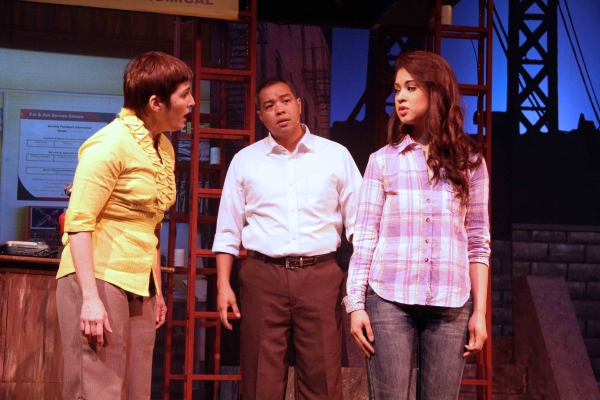 Jakie Lou Blanco, Calvin Millado and K-La Rivera Photo