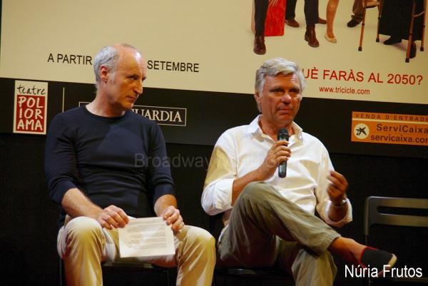 Paco Mir y Carles Sans