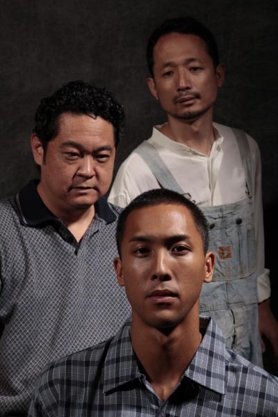 Justin Fragiao, Stu Hirayama and Shiro Kawai