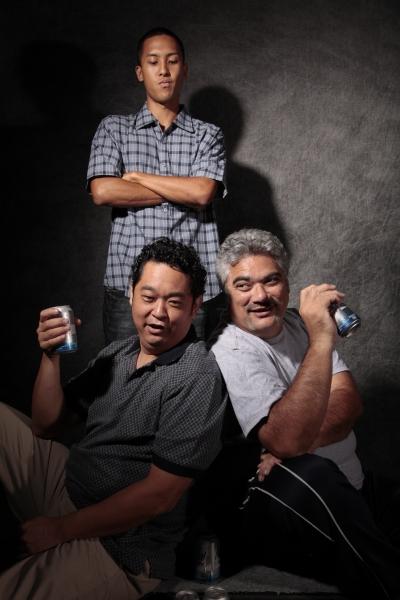 Stu Hirayama and Wil T.K. Kahele; (back) Justin Fragiao