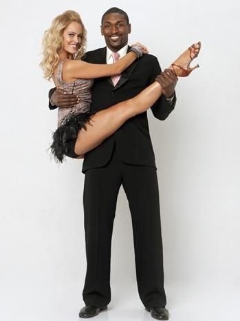 Ron Artest & Peta Murgatroyd