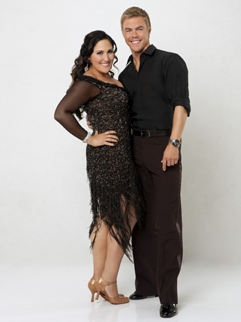 Ricki Lake & Derek Hough