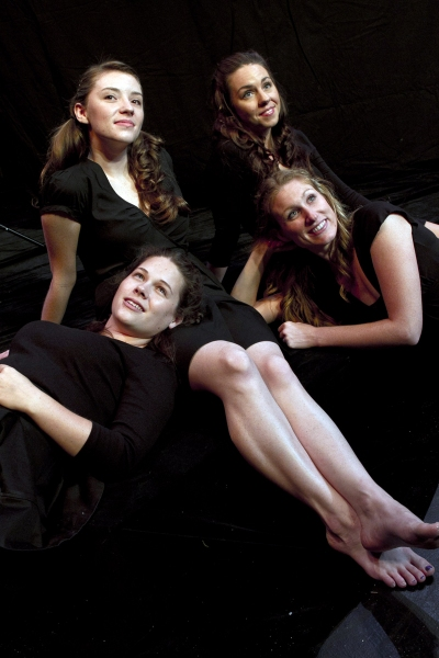 (Clockwise from top L) Abigail Gillan, Kristin O'Connell, Carly Kincannon and Caitlin Burnham from Spring Awakening, opening September 22, 2011 on the Phoenix Mainstage.