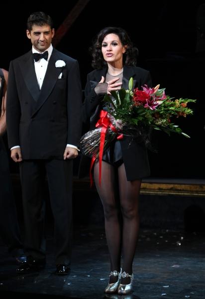 Curtain Call - Tony Yasbeck & Kara DioGuardi  Photo