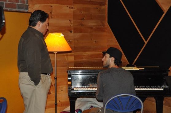 Daniel Rodriguez and Jesse Lynch (Musical Director) Photo