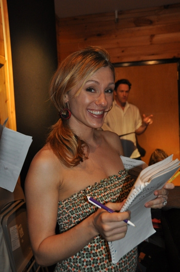 Photo Coverage: MAMMA MIA! Sings for 'Carols For A Cure'