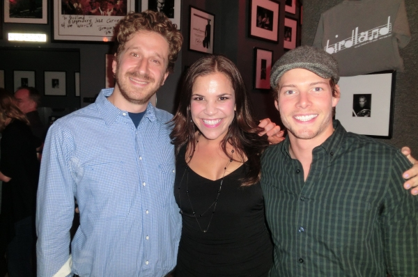 Danny Goldstein, Lindsay Mendez, Hunter Parrish