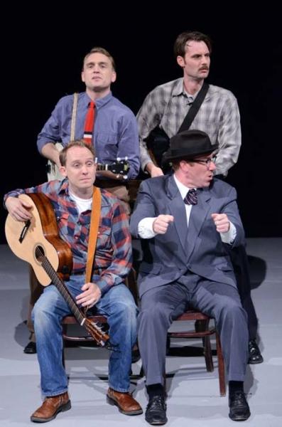 Ben Curtis, Michael Patrick Flanagan Smith, Benjamin Jaeger-Thomas and Caleb Stine Photo
