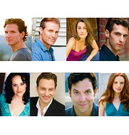 Sebastian Arcelus, Marc Kudisch, Teal Wicks, et al. Set for Second Stage Theatre's THE BLUE FLOWER