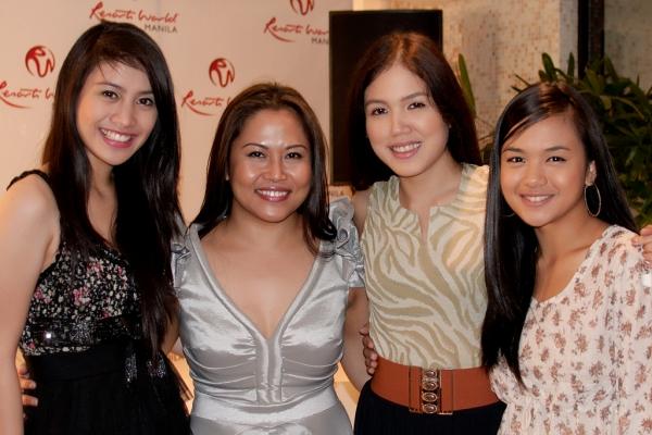 Ima Castro with the Opera Belles