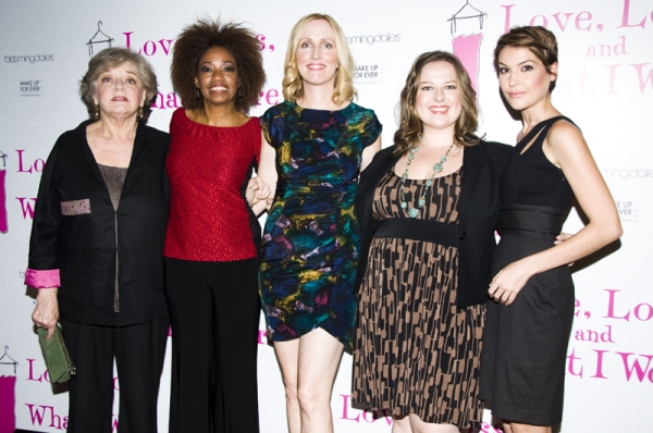 Joyce Van Patten, Adriane Lenox, Janel Moloney, Zuzanna Szadkawski & Ashley Austin Morris at Janel Moloney, Adriane Lenox, Join Cast of LOVE, LOSS, AND WHAT I WORE
