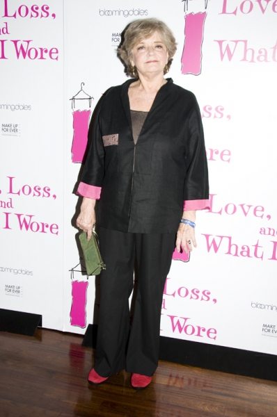 Joyce Van Patten at Janel Moloney, Adriane Lenox, Join Cast of LOVE, LOSS, AND WHAT I WORE