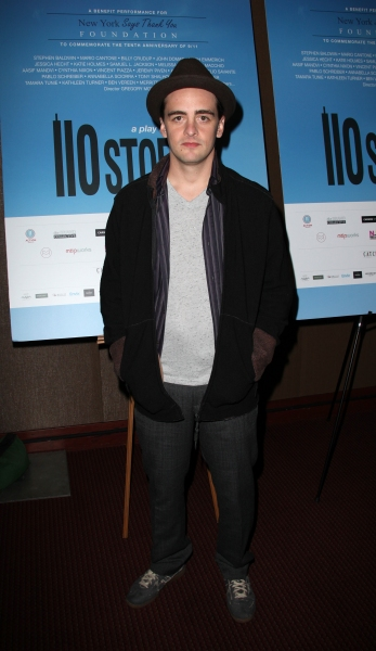 Vincent Piazza  at Jeremy Piven, Mario Cantone, et al. at 110 STORIES Opening Night!
