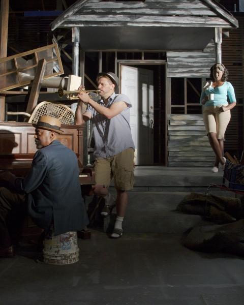 Kenny Brawner, Jack Koenig, and Laiona Michelle Photo