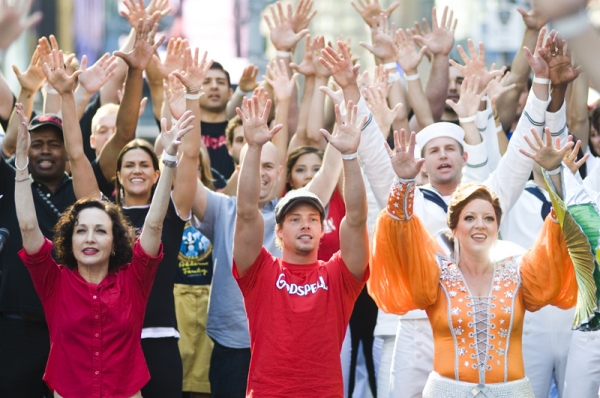 Photo Coverage: BWAY UNITES: 9/11 DAY OF SERVICE AND REMEMBRANCE