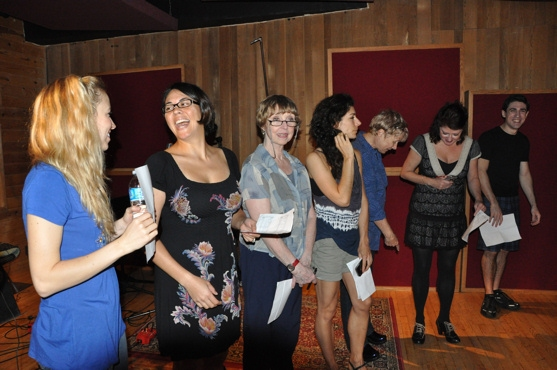 Photo Coverage: THE PHANTOM OF THE OPERA Sings for 'Carols For A Cure'
