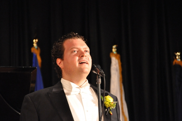 Photo Coverage: Karl Scully Sings 9/11 Tribute for Since You Went Away