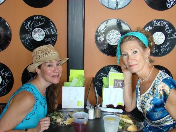 Brooke Bryant and Pam Atha