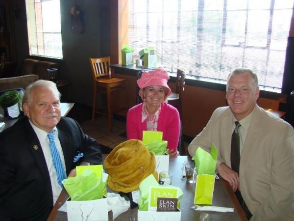 Larry Keeton, Jane Schnelle and Brad Kamer
