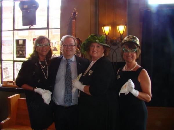 Tracey Barnes Hughes, Jeffrey Ellis, Brenda Frye and Lisa Garner Harrison