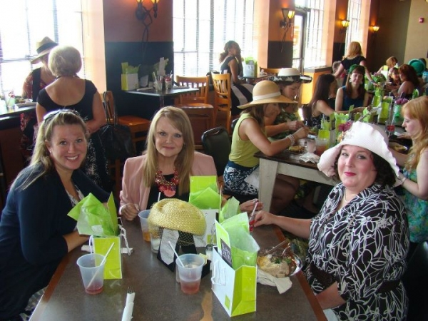 Jaclyn Lisenby Brown, Jama Bowen and Joy Tilley Perryman