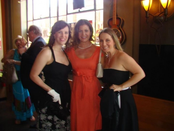 Beki Baker, Shannon McMinn Hoppe and Robyn Berg