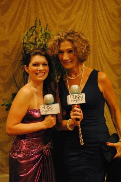 Jennifer Richmond and Pam Atha