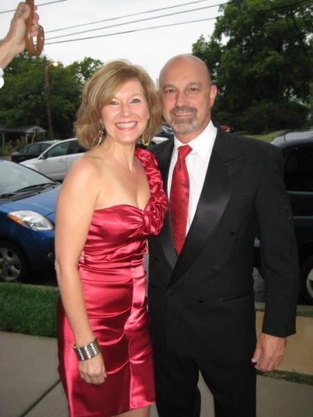 Lora Westlund & Ed Amatrudo at First Night: The Red (Orange) Carpet Event