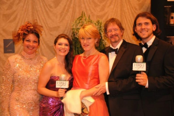Cary Street, Jennifer Richmond, Patricia Taber, 2011 First Night honoree Daniel Brewer & Trey Palmer