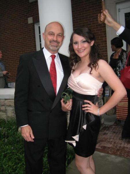 Ed Amatrudo and his daughter, Delaney Amatrudo