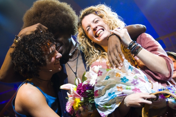 Photo Coverage: HAIR Tour Closes on Broadway