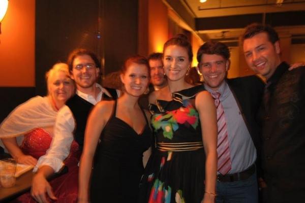 Lynda Cameron-Bayer, Trey Palmer, Stephanie Brooks, Justin Pike and Bryce Conner
