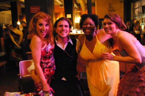 Jenny Norris-Light, Trey Palmer, Jennifer Whitcomb-Oliva and Jennifer Richmond