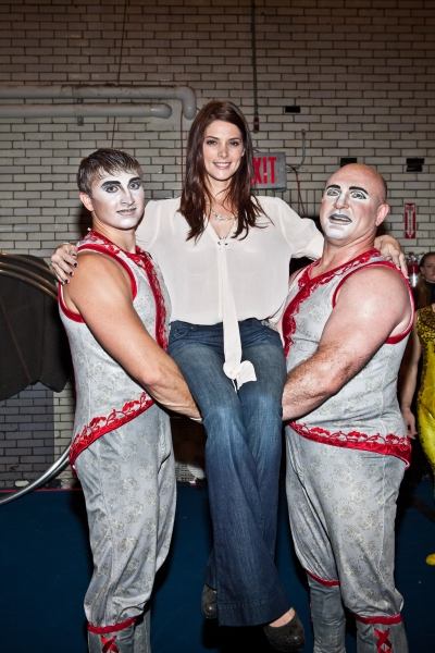 Photo Coverage: TWILIGHT's Ashley Greene Visits ZARKANA
