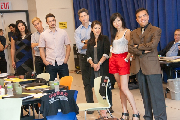 Photo Coverage: Broadway's CHINGLISH Meets the Press