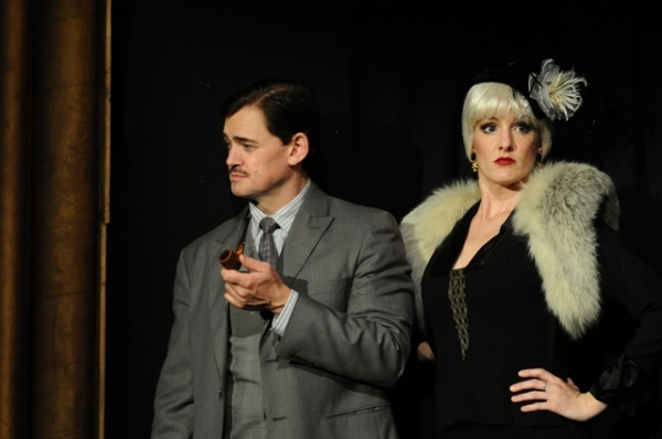 Fred Rose and Jennifer Byrne