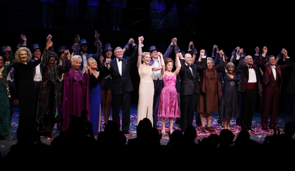 3 at FOLLIES Broadway Opening Night Curtain Call!