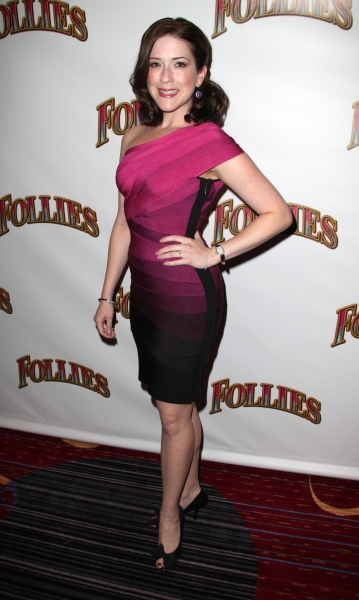 Leah Horowitz at FOLLIES Celebrates Opening Night - The After Party