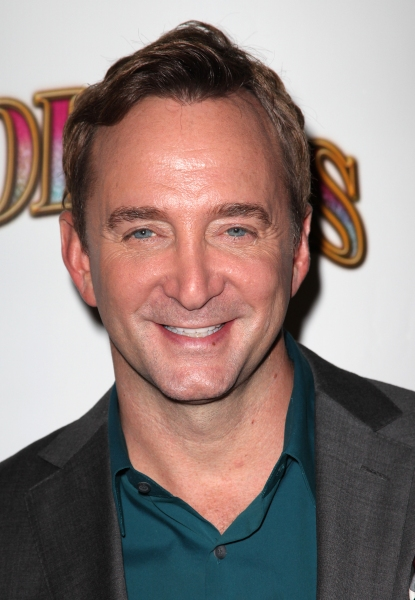 Clinton Kelly  at FOLLIES Starry Opening Night Theatre Arrivals