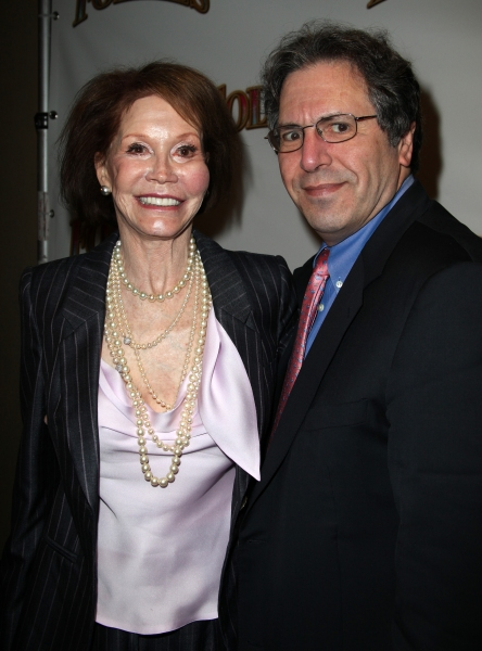 Mary Tyler Moore & husband Dr. Robert Levine