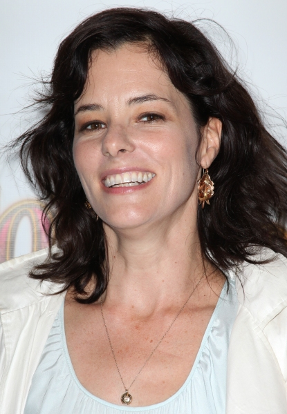 Parker Posey  at FOLLIES Starry Opening Night Theatre Arrivals