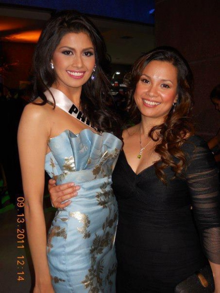 Photo Flash: Lea Salonga Sits as a Judge at 2011 Ms. Universe Pageant