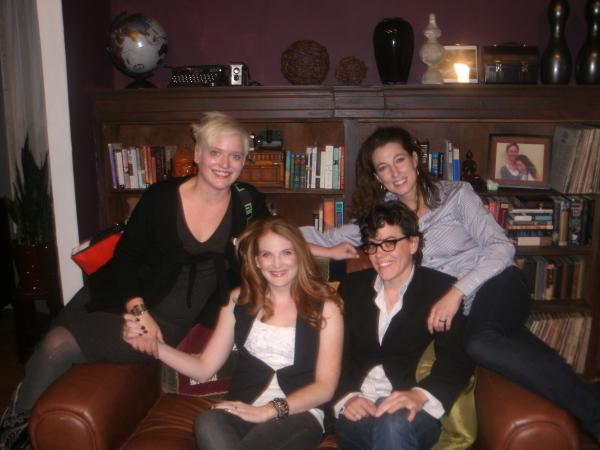 Halena Kays, Rebekah Ward-Hayes, Sarah Gubbins, and Park Krausen