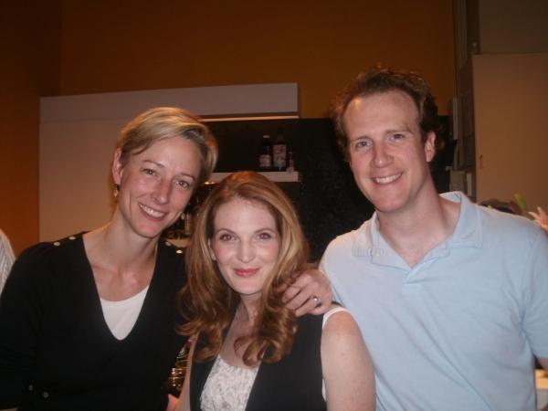 Kelli Simpkins, Rebekah Ward-Hays, and Steve O'Connell