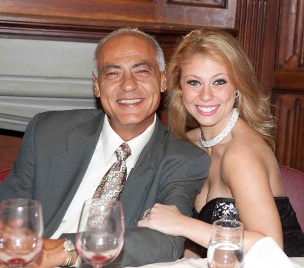 Carolyn Ameradio and Father