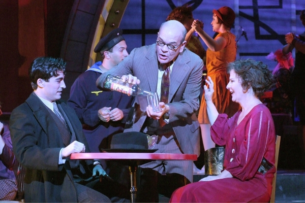 Zach Bandler, Robert Picardo and Mary Gordon Murray  at Bryce Ryness, Lisa O'Hare in Reprise Theatre Company's CABARET